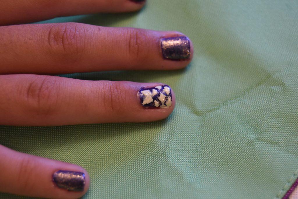 Belle dress nail