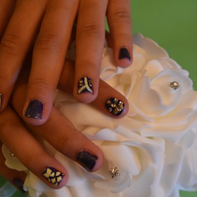 Beauty and the Beast Inspired Hair and Nail DIYs