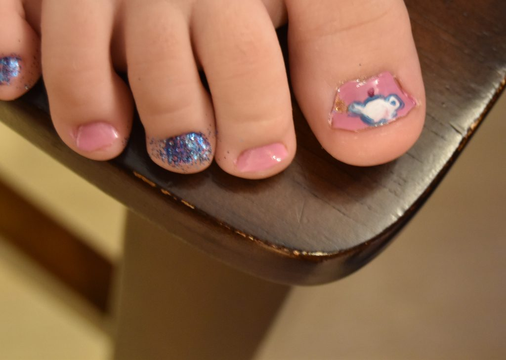 Beauty and the Beast Pedicure