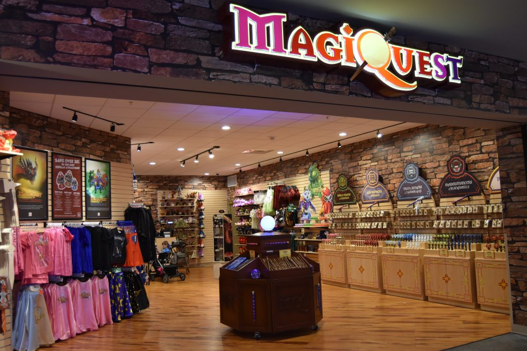 Great Wolf Lodge Anaheim MagiQuest Store