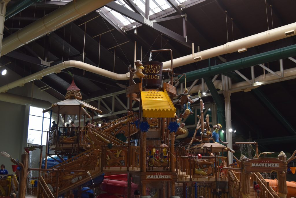 Great Wolf Lodge Anaheim Kids Water Play Structure