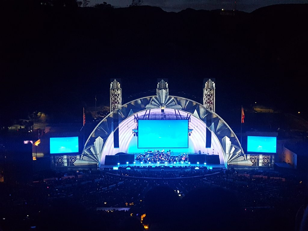 The Hollywood Bowl Art Deco