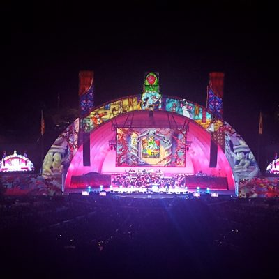 Beauty and the Beast Ending at the Bowl