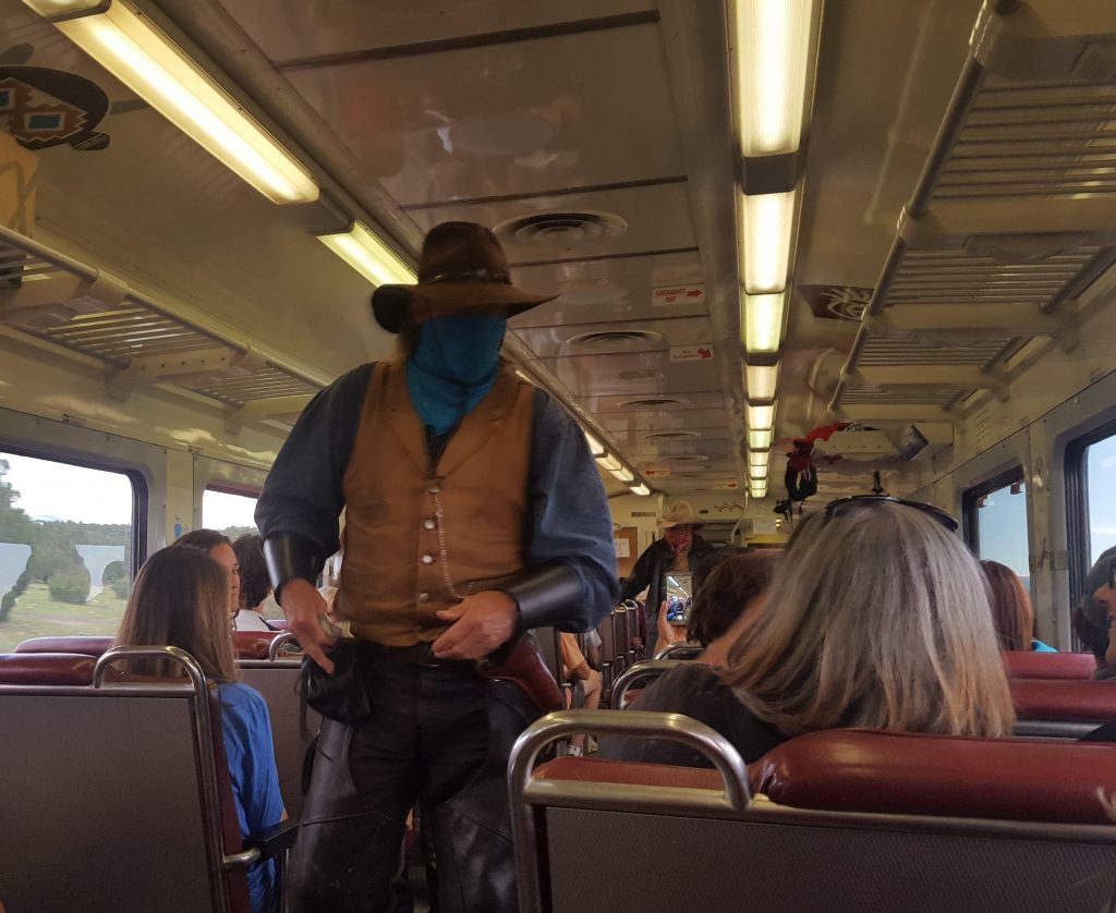 Grand Canyon Train Robber
