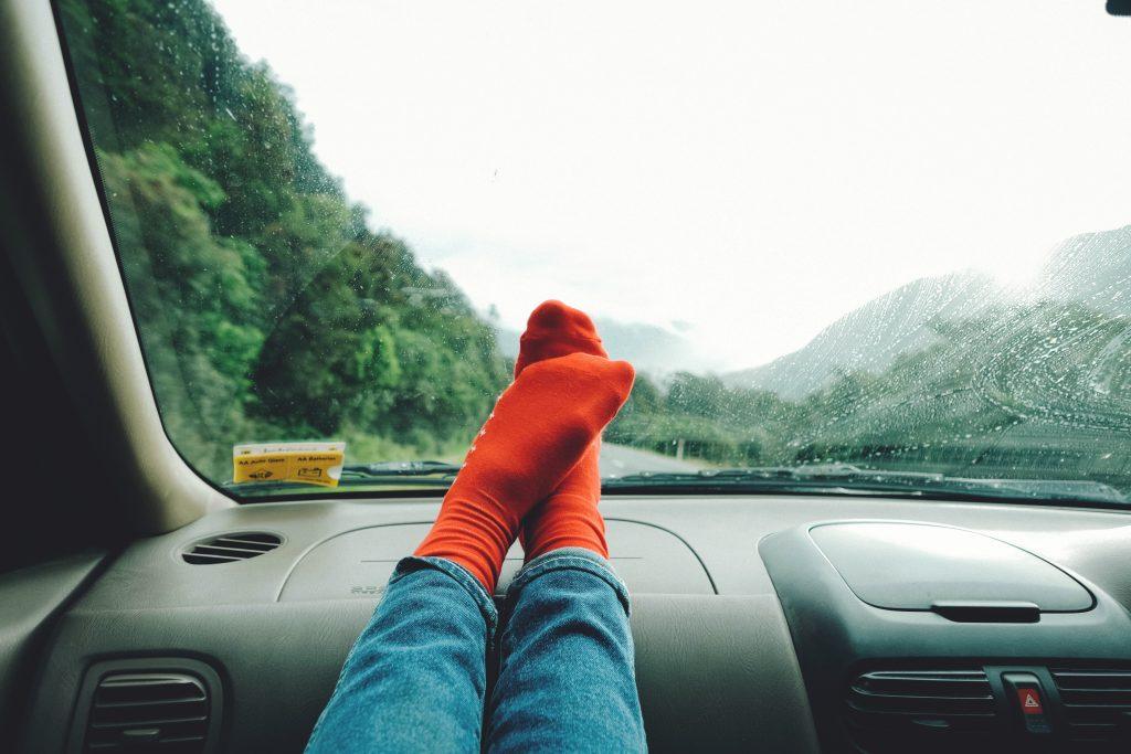 Comfortable road trip