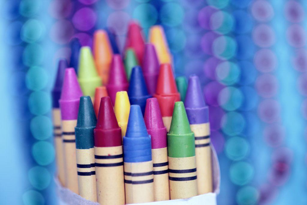 Road trip crayons