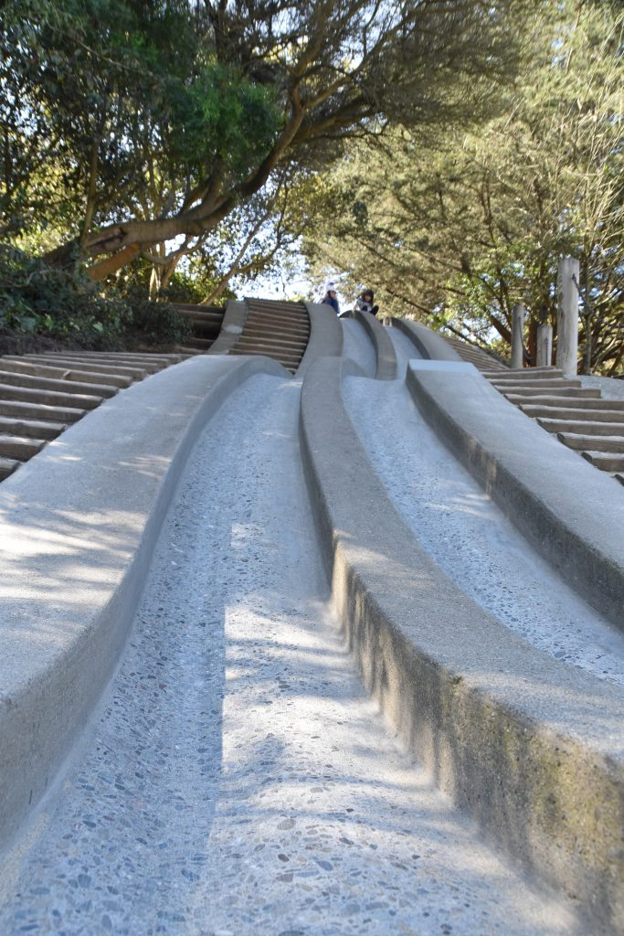 Slide at Golden Gate Park Koret Children's Quarter