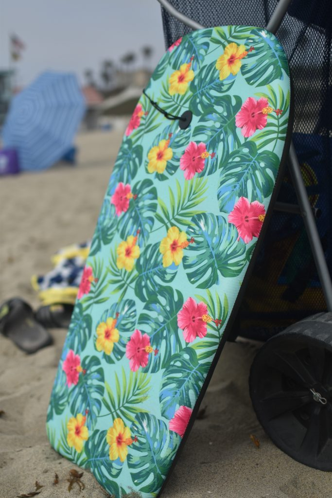 Must-have beach item- boogie board