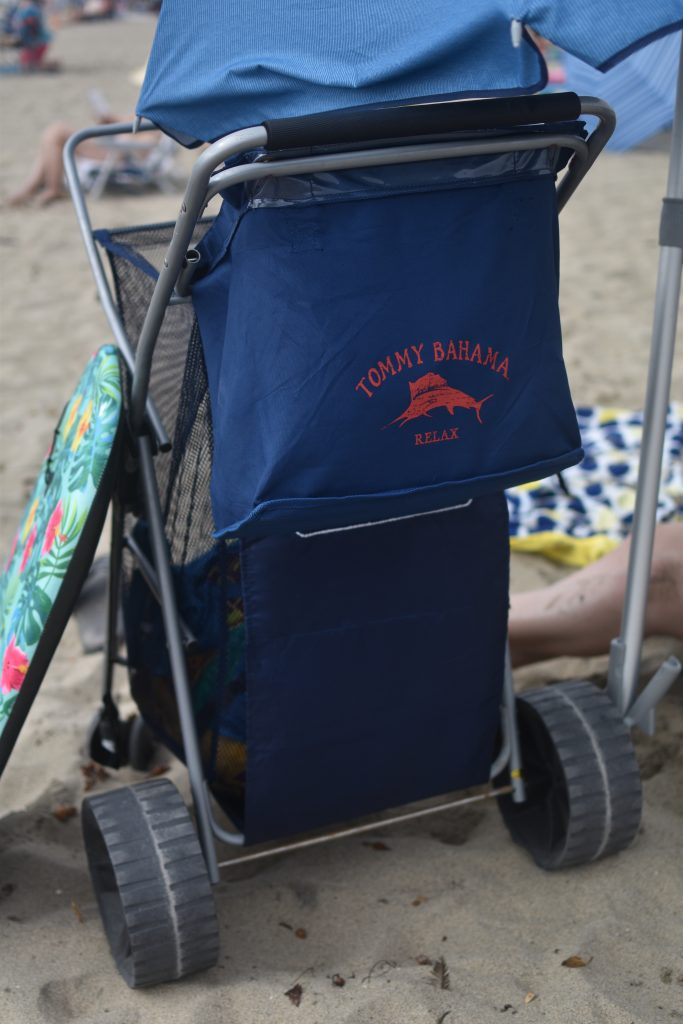 Must-have beach item- Tommy Bahama Beach Cart