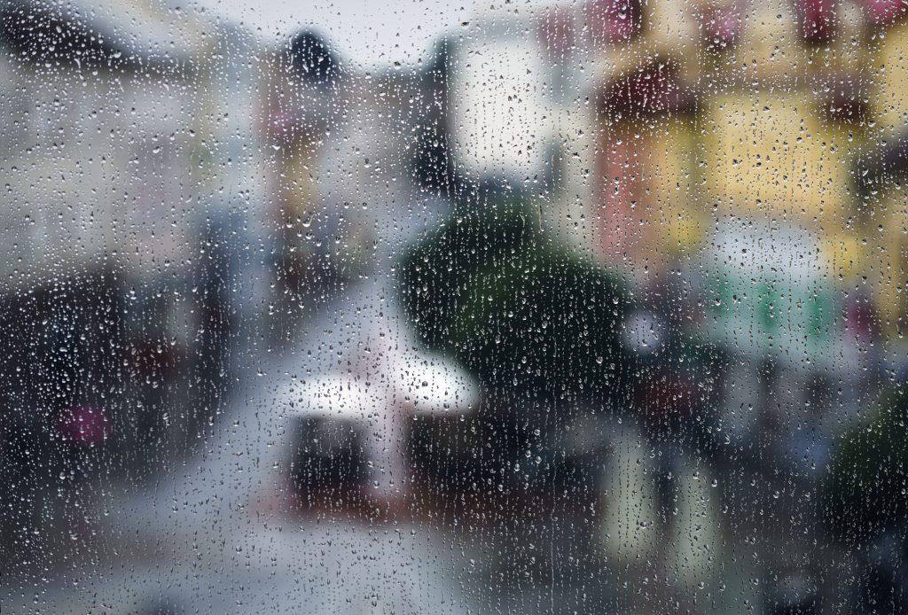 Road trip rain
