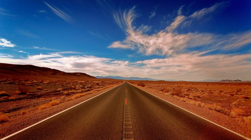 Road Trip- picture of open road