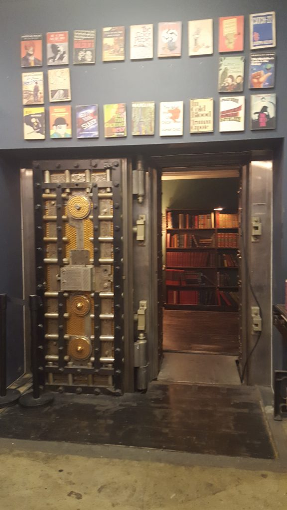 Vault at The Last Book Store-SoCal Day Trip Downtown LA
