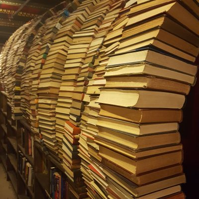 Book Tunnel at The Last Book Store- SoCal Day Trip Downtown LA