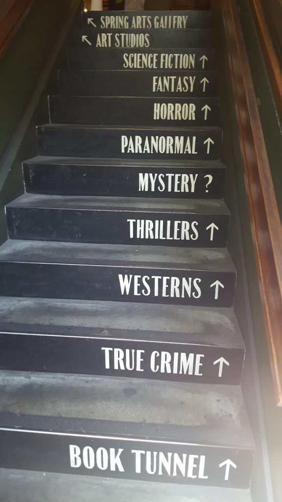Stair Case The Last Bookstore SoCal Day Trip Downtown LA
