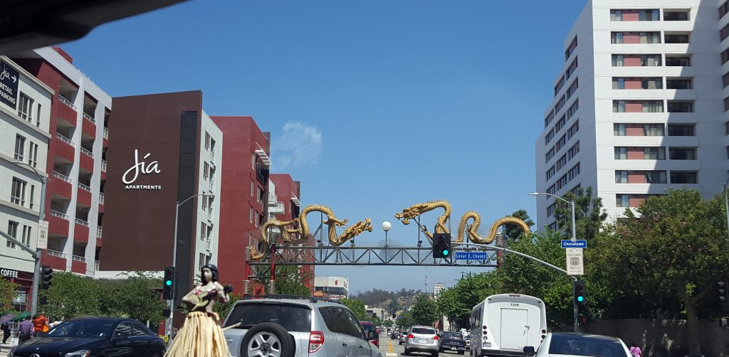 Chinatown Entrance-SoCal Day Trip Downtown LA