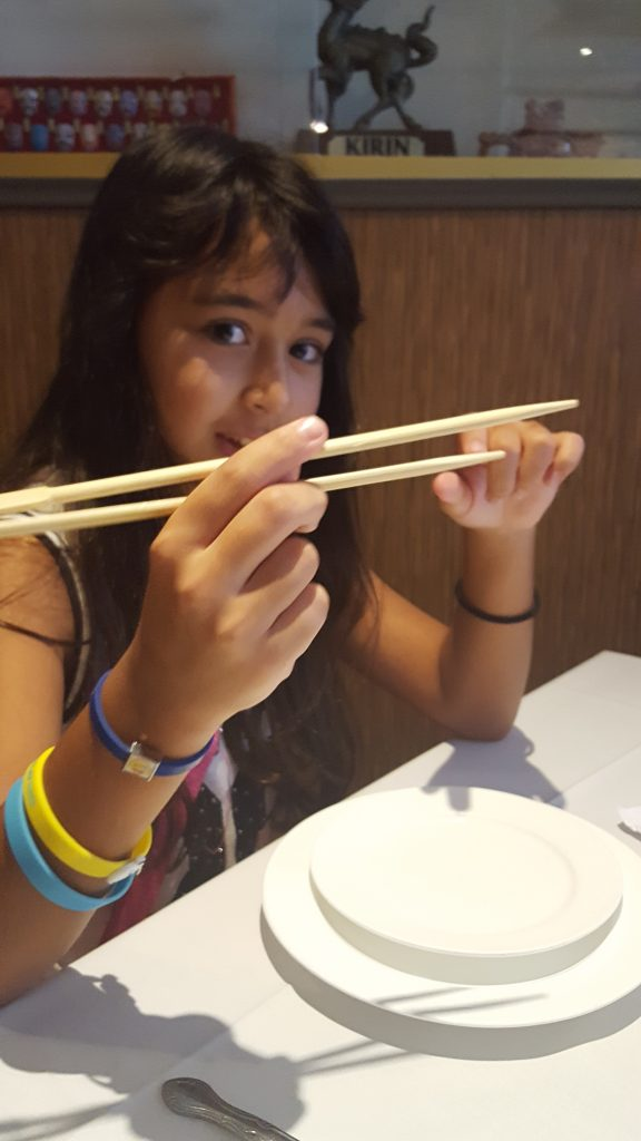 Chopsticks at Yang Chow Chinatown