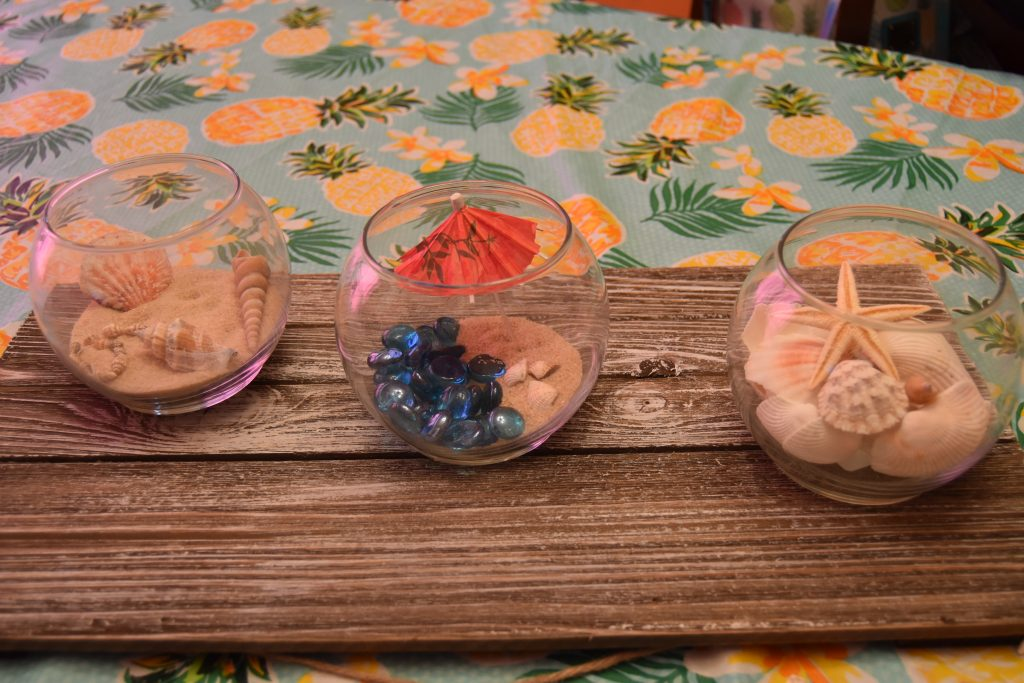 Super Easy DIY Beach Party Centerpieces
