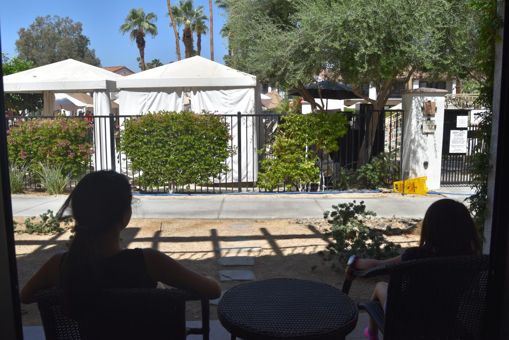 Omni Rancho Las Palmas-Pool view from room