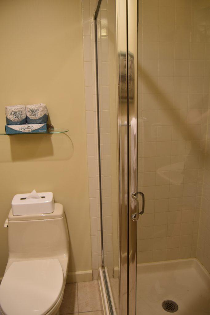 Living room bathroom in Cancun Vegas resort