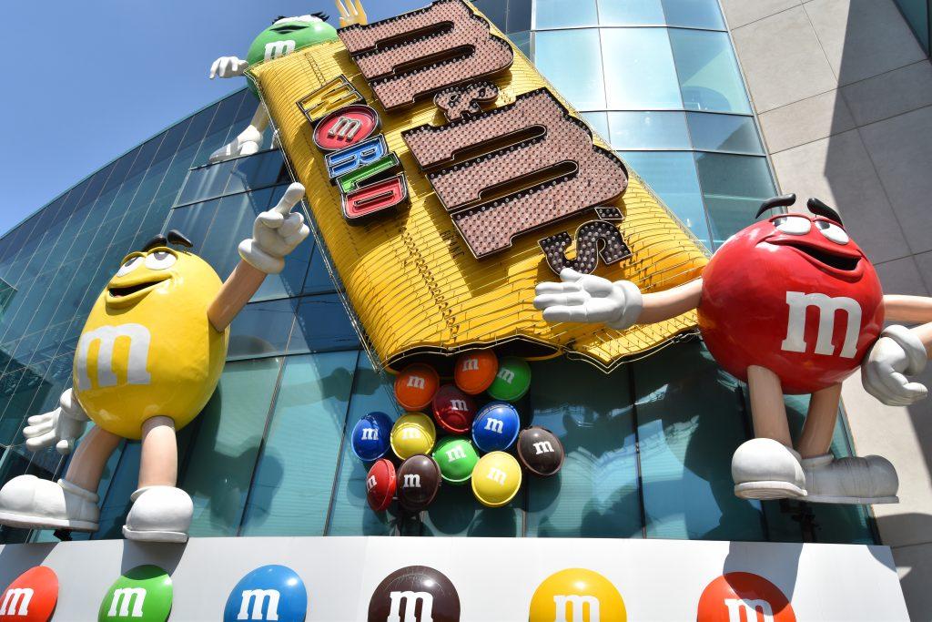 M&M Store Entrance