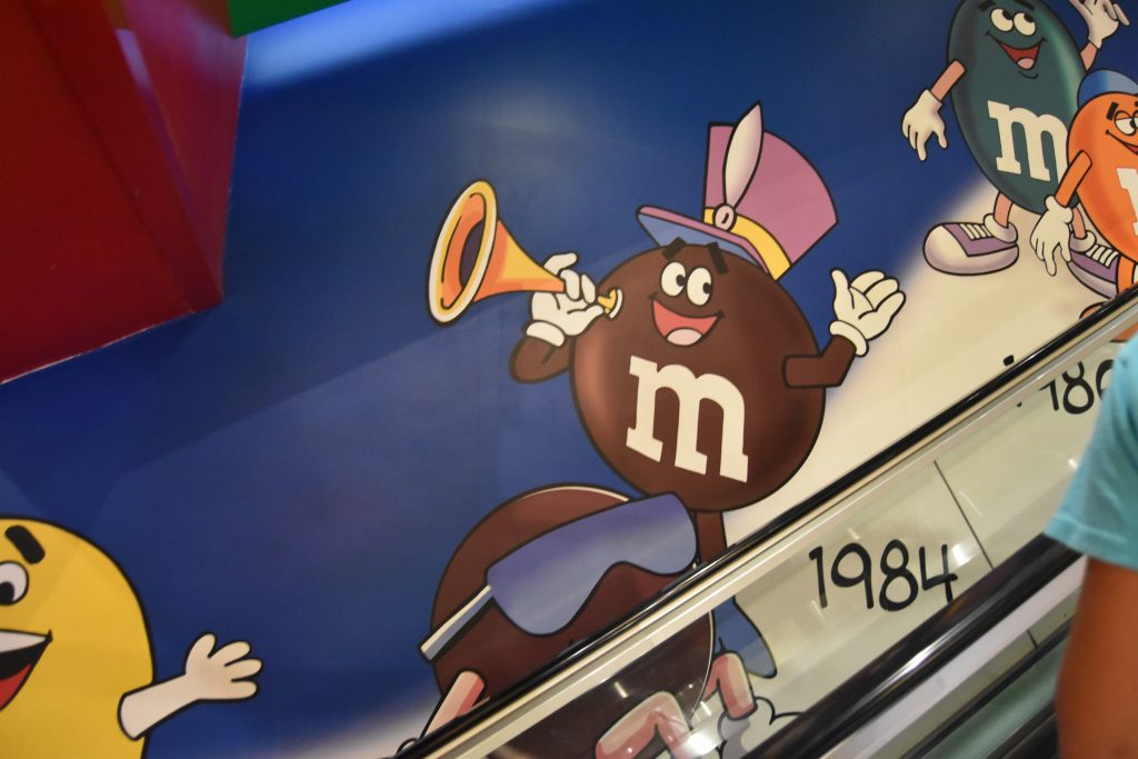 M&M Cartoons from 1980's
