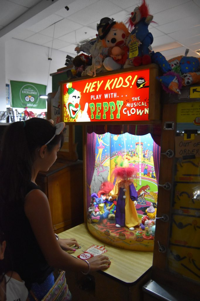 Pinball hall of fame-Peppy the Clown game