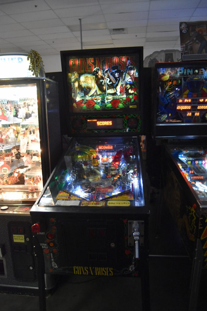 Pinball Hall of Fame-Guns N' Roses pinball machine