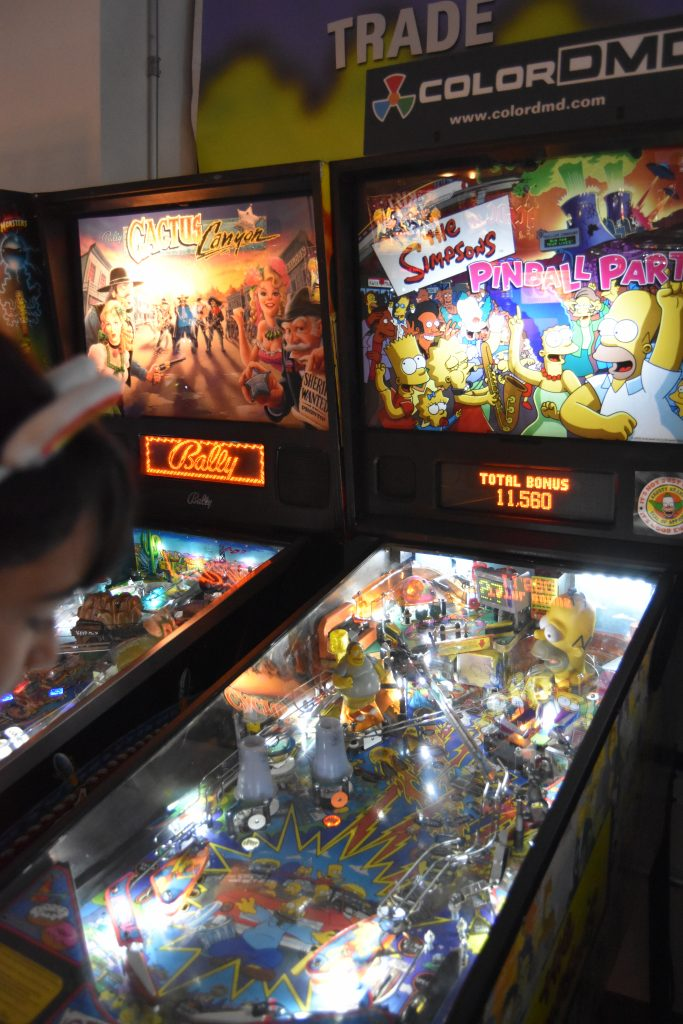 Pinball Hall of Fame-The Simpsons pinball game