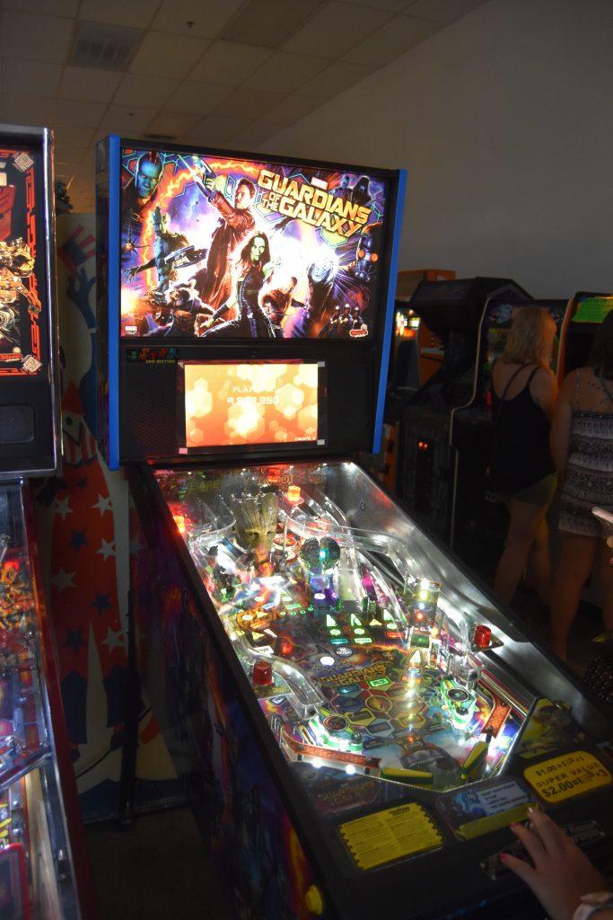 Pinball Hall of Fame-Guardians of the Galaxy pinball machine