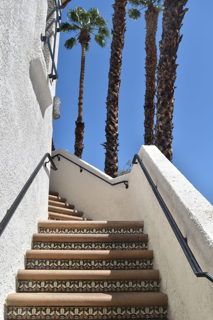 Omni Rancho Las Palmas-Hotel Room staircase