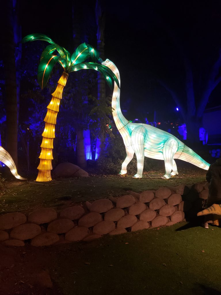 Dinosaurs at the Chinese Lantern Festival