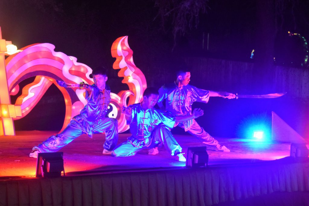 Kung Fu demonstration at The Chinese Lantern Festival