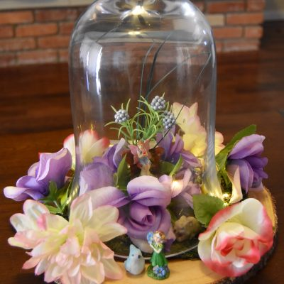 Fairy Cloche Centerpiece DIY