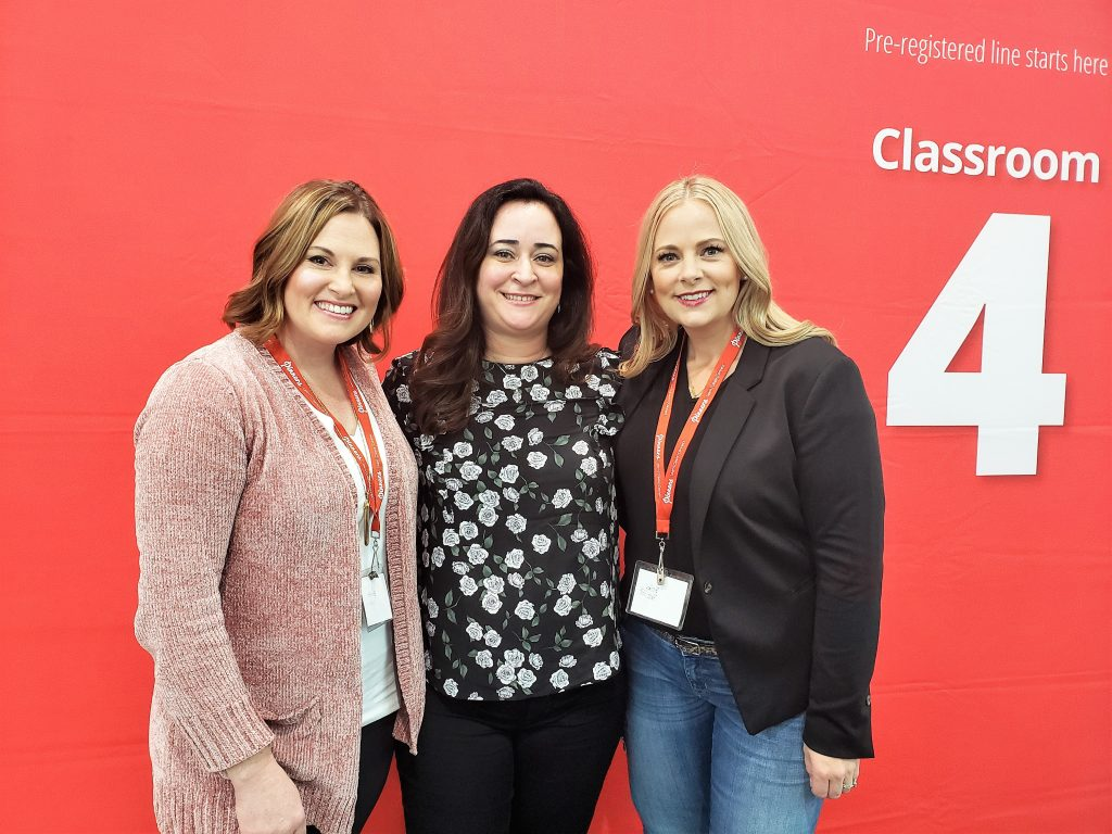 Picture with the two Becky's: California Pinners Conference and Expo: Thoughts and Tips