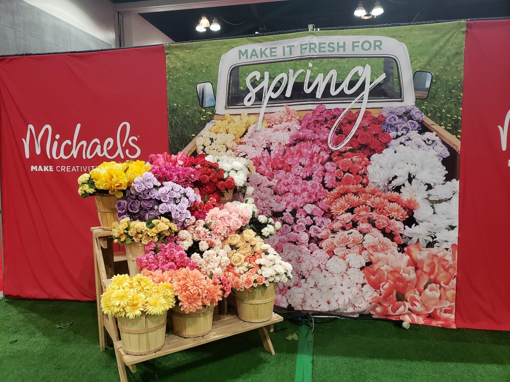 Michael's display at California Pinners Conference and Expo: Thoughts and Tips