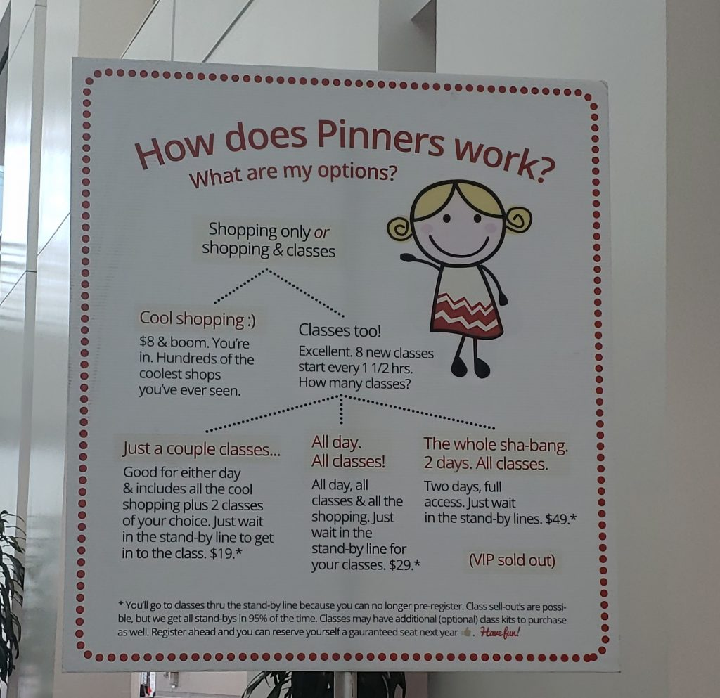 How Pinners Works-California Pinners Conference and Expo: Thoughts and Tips