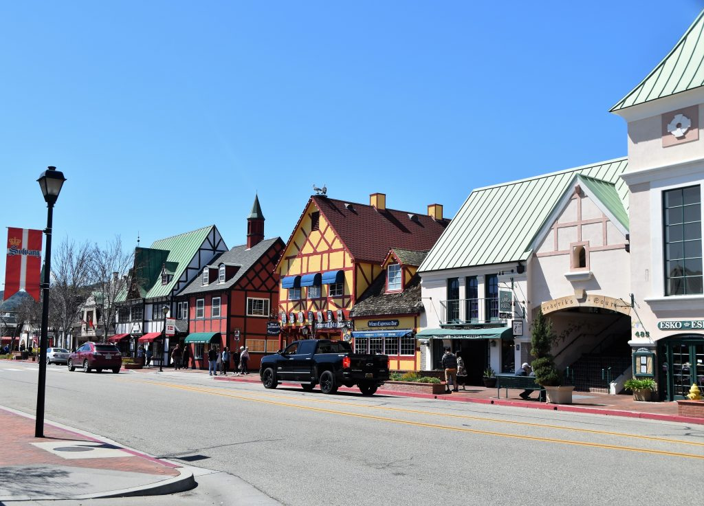 View of a Solvang street-Solvang Danish Village: Is It Worth It?