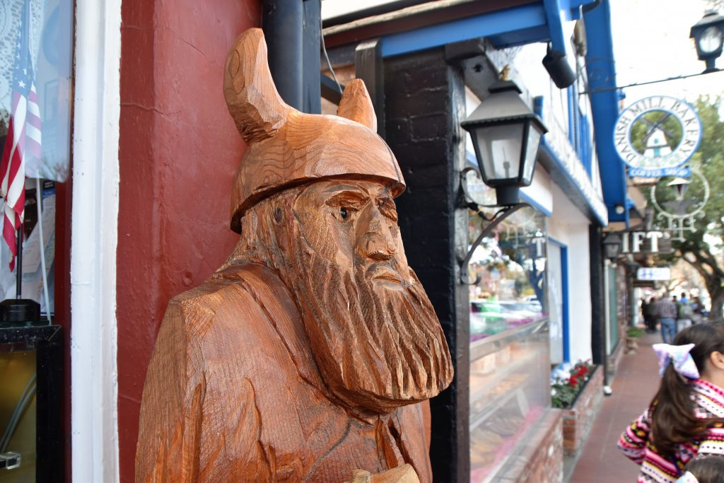 Wooden statue carving-Solvang Danish Village: Is It Worth It?