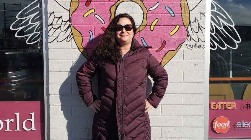 Donut Bar Las Vegas Donut Mural Angel