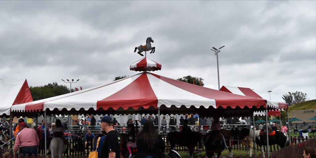 Pony rides at America's Family Pet Expo