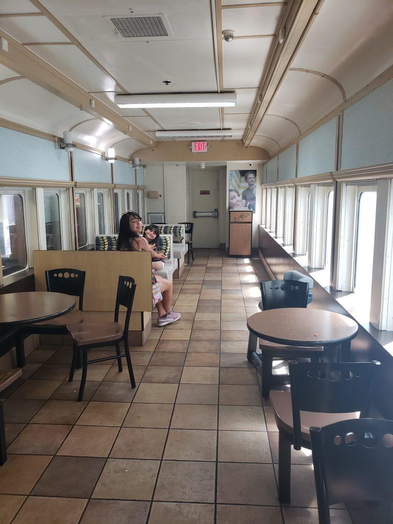 McDonald's Train car Las Vegas Road Trip stop