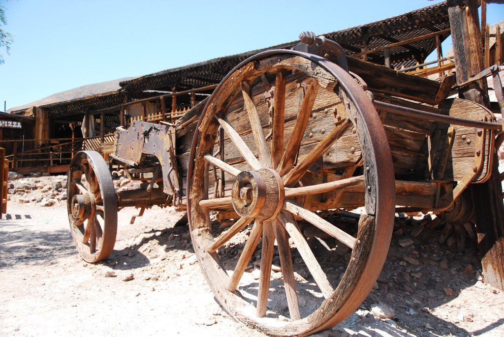 Wagon at Calico Las Vegas road trip stop