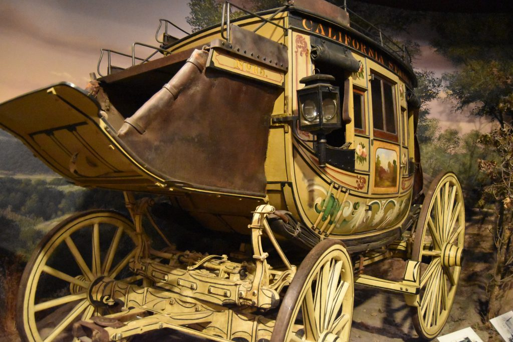 Stage Coach at the Autry Museum of the American West