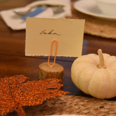 Simply Elegant Fall Tablescape