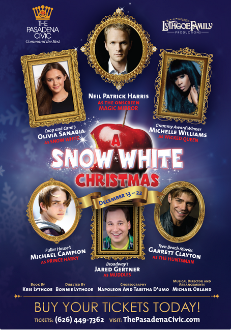 A Snow White Christmas: Ticket Giveaway!