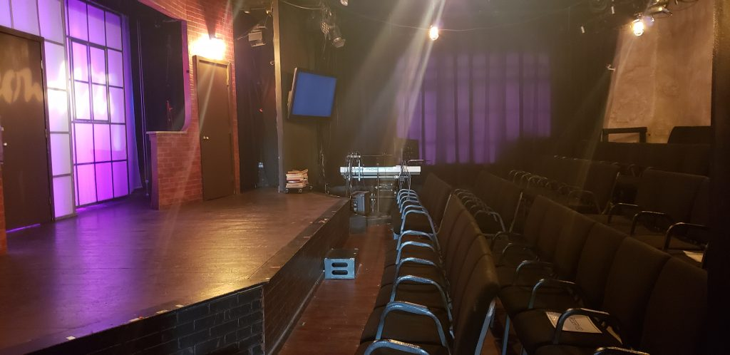 Stage at Second City Hollywood