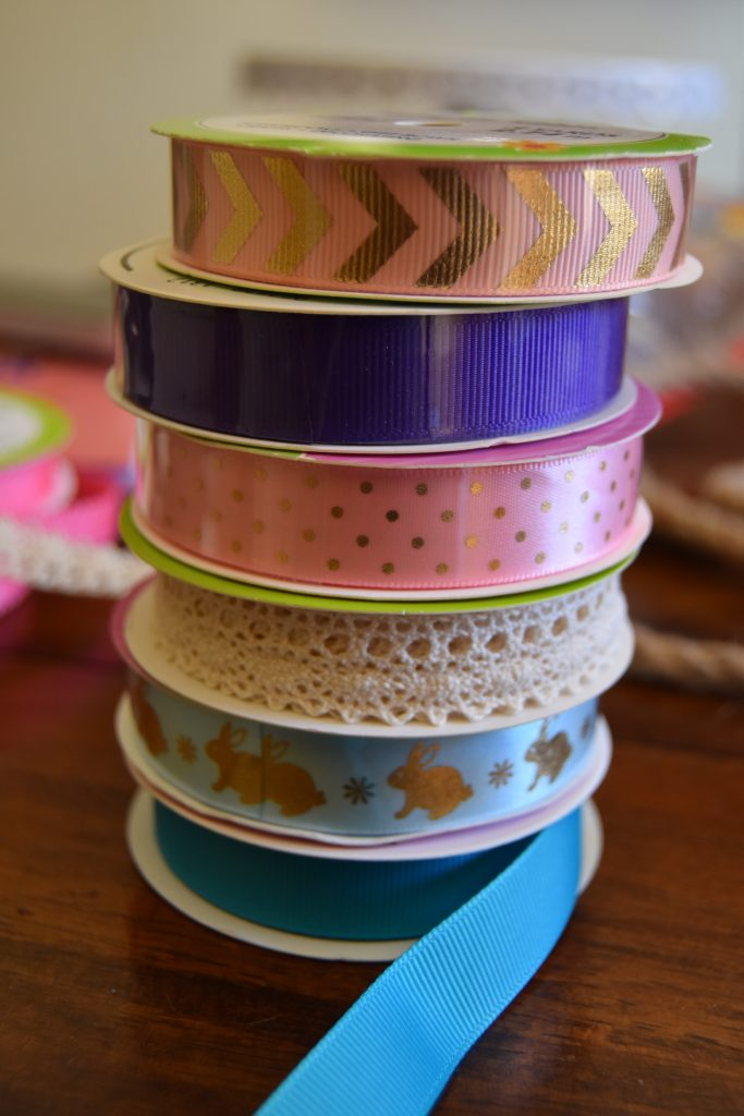 Ribbon-Easy DIY Easter Decor