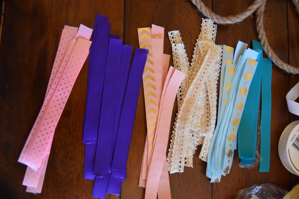 Ribbon for ribbon rope