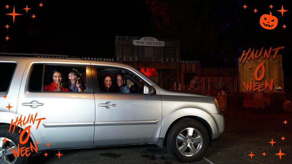 Hauntoween LA: A Safe Drive-Thru Halloween Celebration