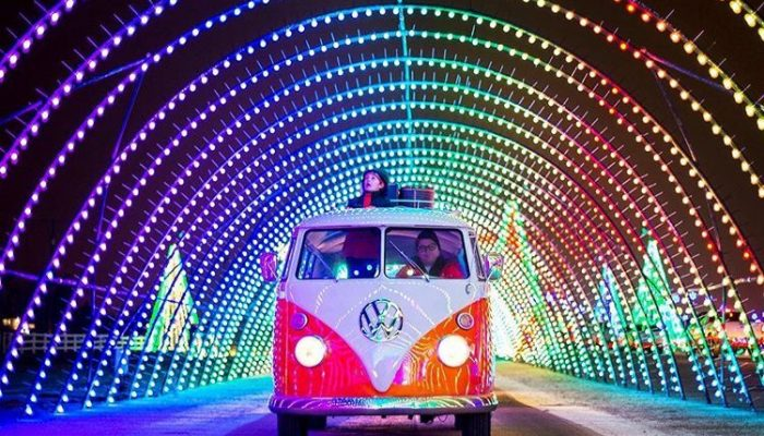 Holiday Drive-Thru Experiences for a Magical 2020